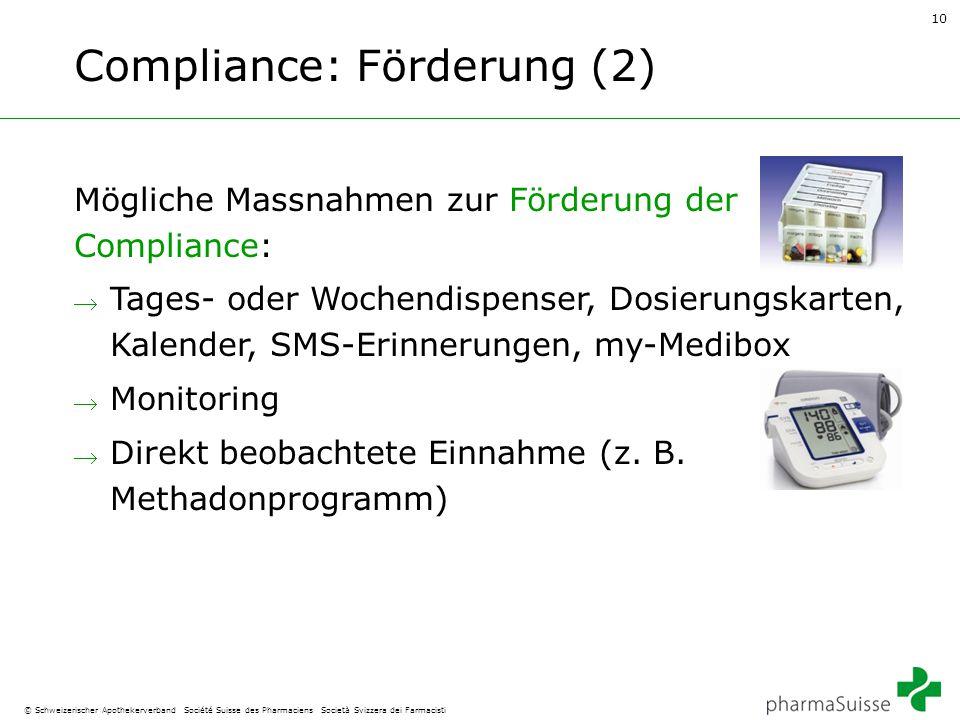 Compliance: Förderung (2)