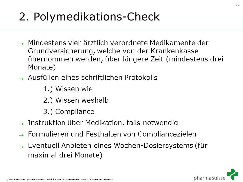 2. Polymedikations-Check