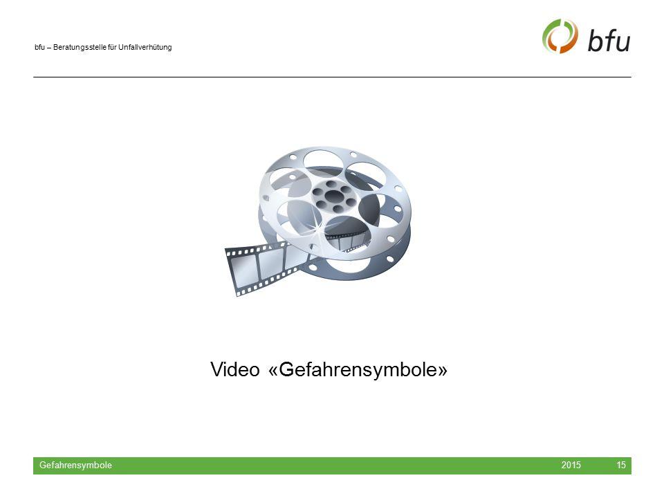 Video «Gefahrensymbole»
