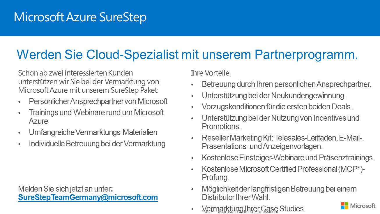 Microsoft Azure SureStep