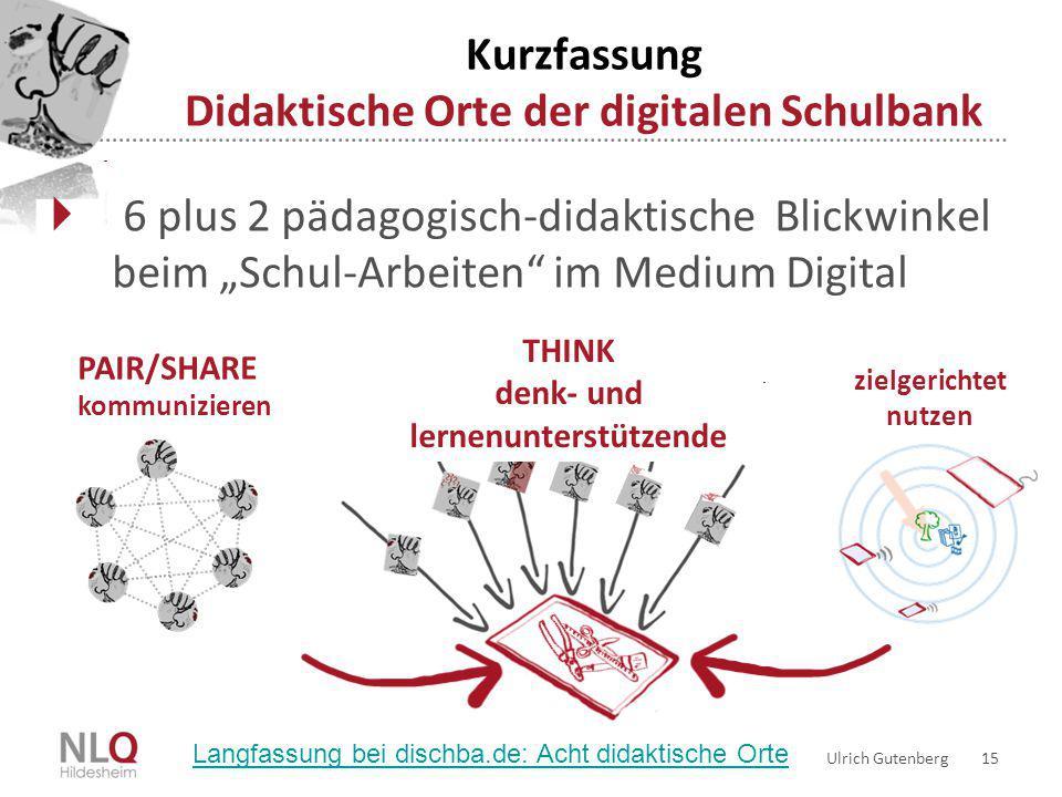 Kurzfassung Didaktische Orte der digitalen Schulbank