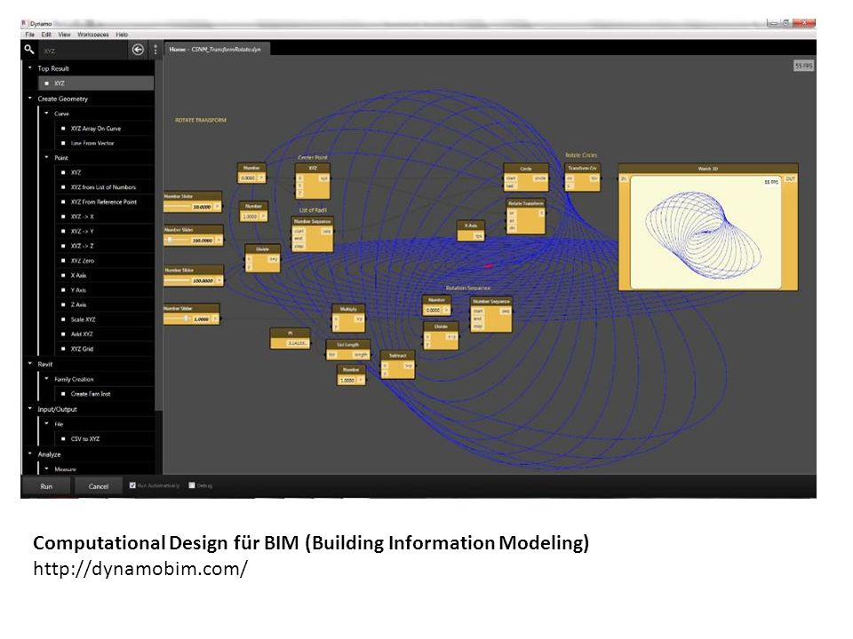 Computational Design für BIM (Building Information Modeling)