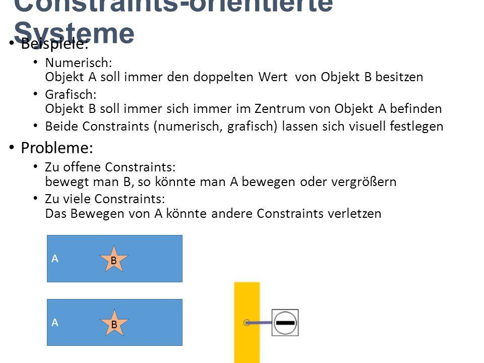 Constraints-orientierte Systeme