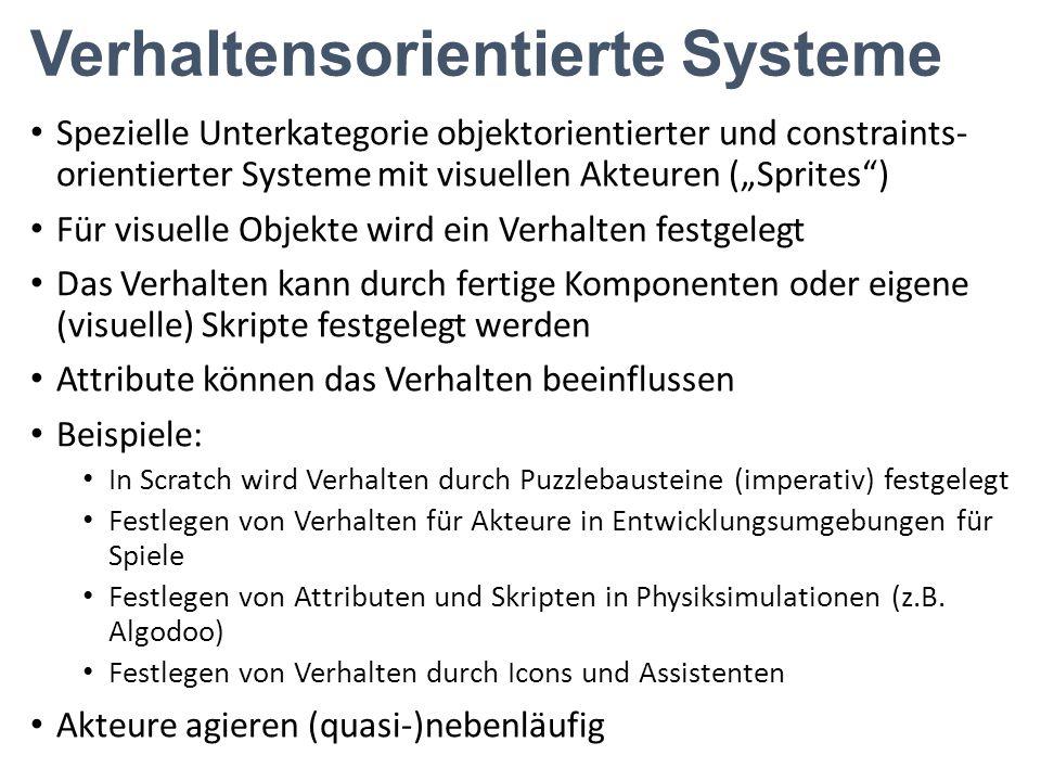 Verhaltensorientierte Systeme