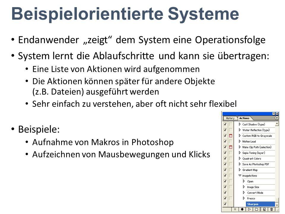 Beispielorientierte Systeme