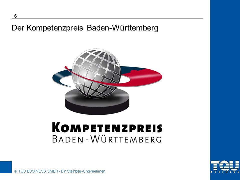 Der Kompetenzpreis Baden-Württemberg