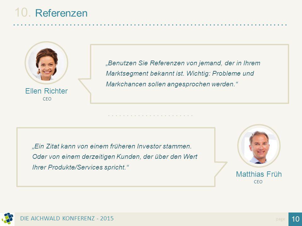 10. Referenzen Ellen Richter Matthias Früh 10