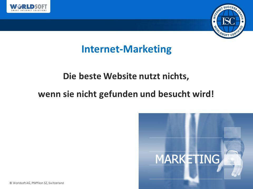 Internet-Marketing Die beste Website nutzt nichts,
