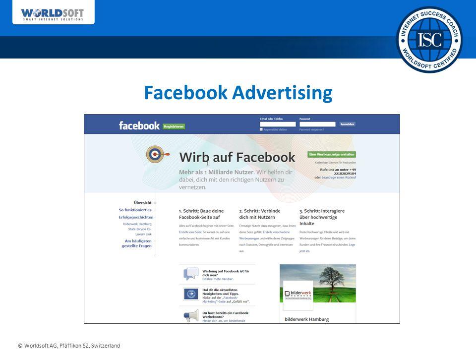 Facebook Advertising Sie erhalten von uns ein ausgereiftes Konzept…
