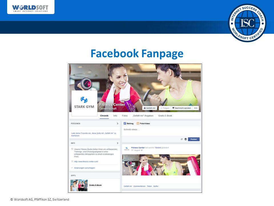 Facebook Fanpage Sie erhalten von uns ein ausgereiftes Konzept…