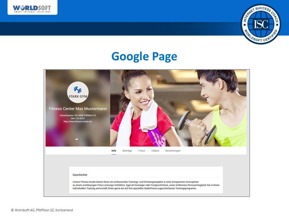 Google Page Sie erhalten von uns ein ausgereiftes Konzept…