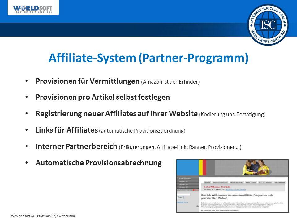 Affiliate-System (Partner-Programm)