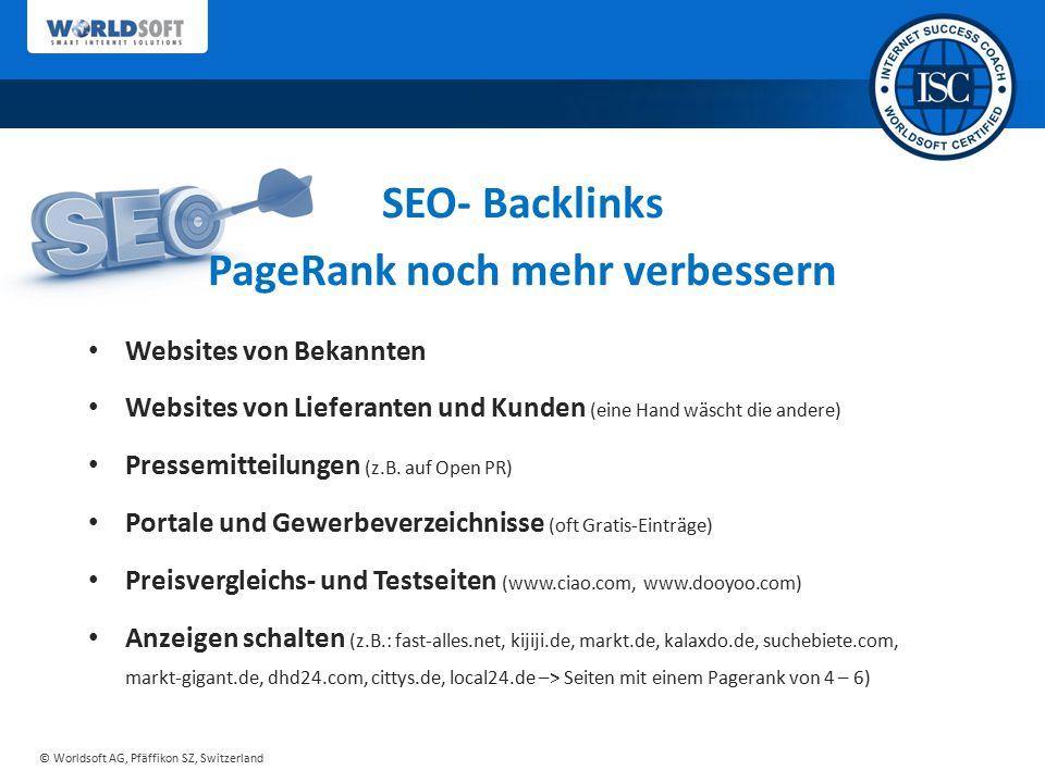 PageRank noch mehr verbessern
