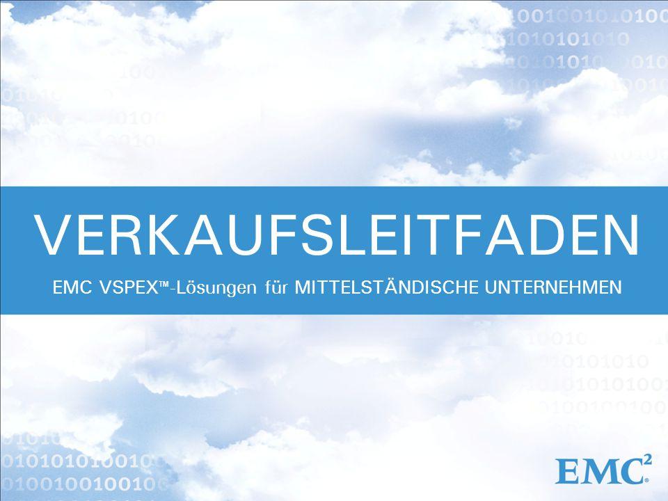 EMC VSPEX™-Lösungen für MITTELSTÄNDISCHE UNTERNEHMEN