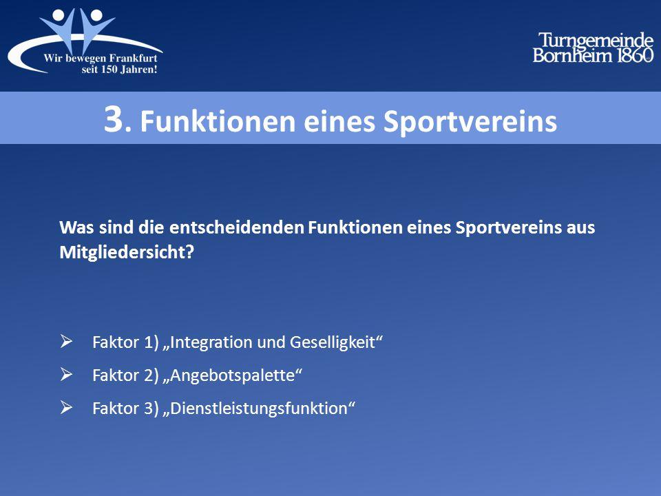 3. Funktionen eines Sportvereins