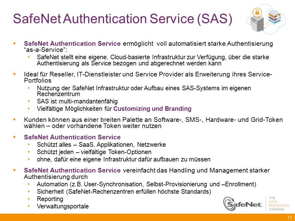 SafeNet Authentication Service (SAS)