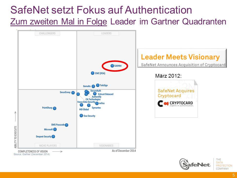 SafeNet setzt Fokus auf Authentication