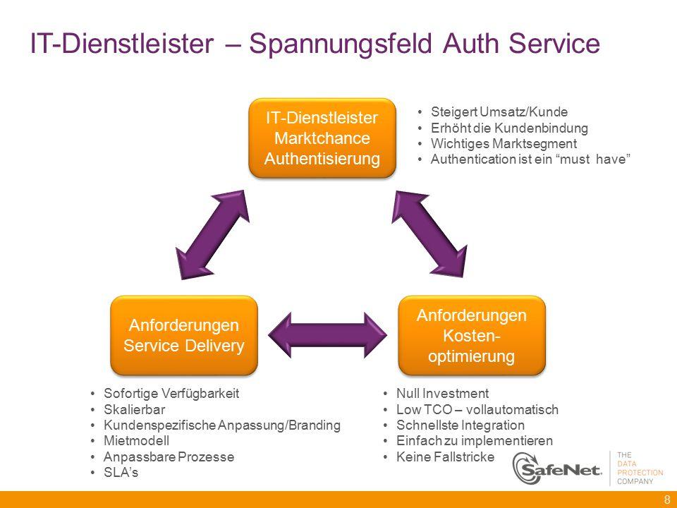 IT-Dienstleister – Spannungsfeld Auth Service