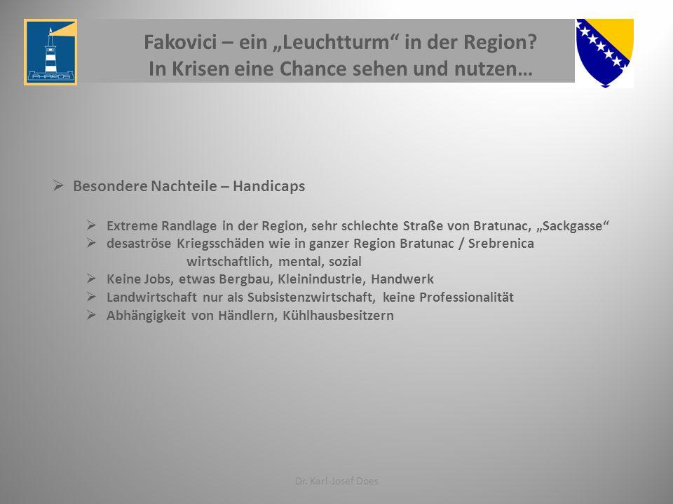 """Fakovici – ein """"Leuchtturm in der Region"""