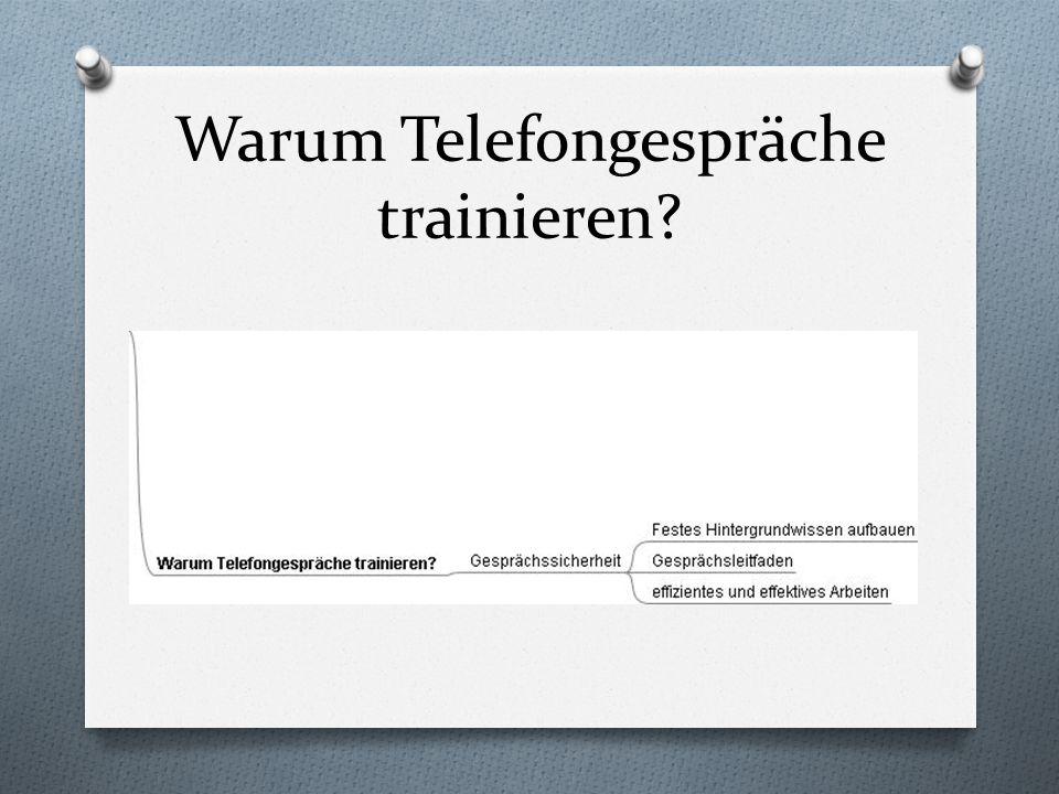 Warum Telefongespräche trainieren