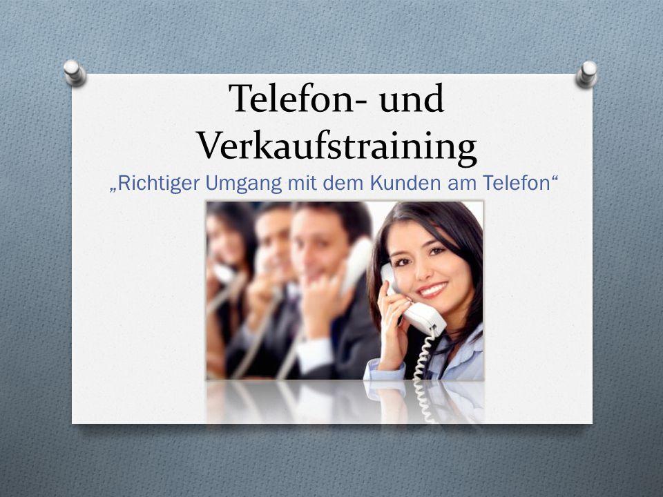 Telefon- und Verkaufstraining