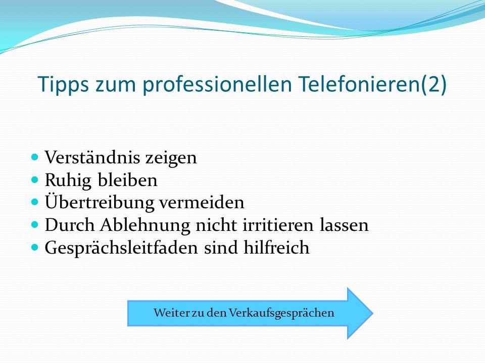 Tipps zum professionellen Telefonieren(2)
