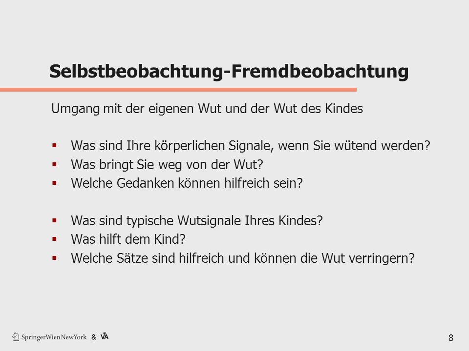 Selbstbeobachtung-Fremdbeobachtung