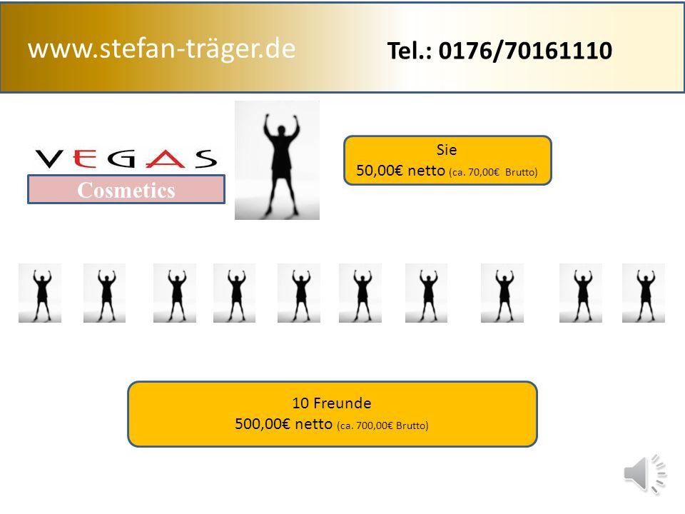 www.stefan-träger.de Tel.: 0176/70161110 Cosmetics Sie