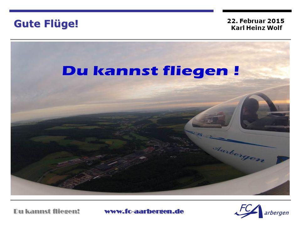 Gute Flüge! Du kannst fliegen! www.fc-aarbergen.de