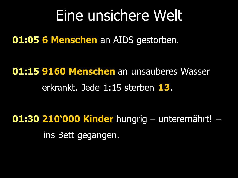 01:05 6 Menschen an AIDS gestorben.