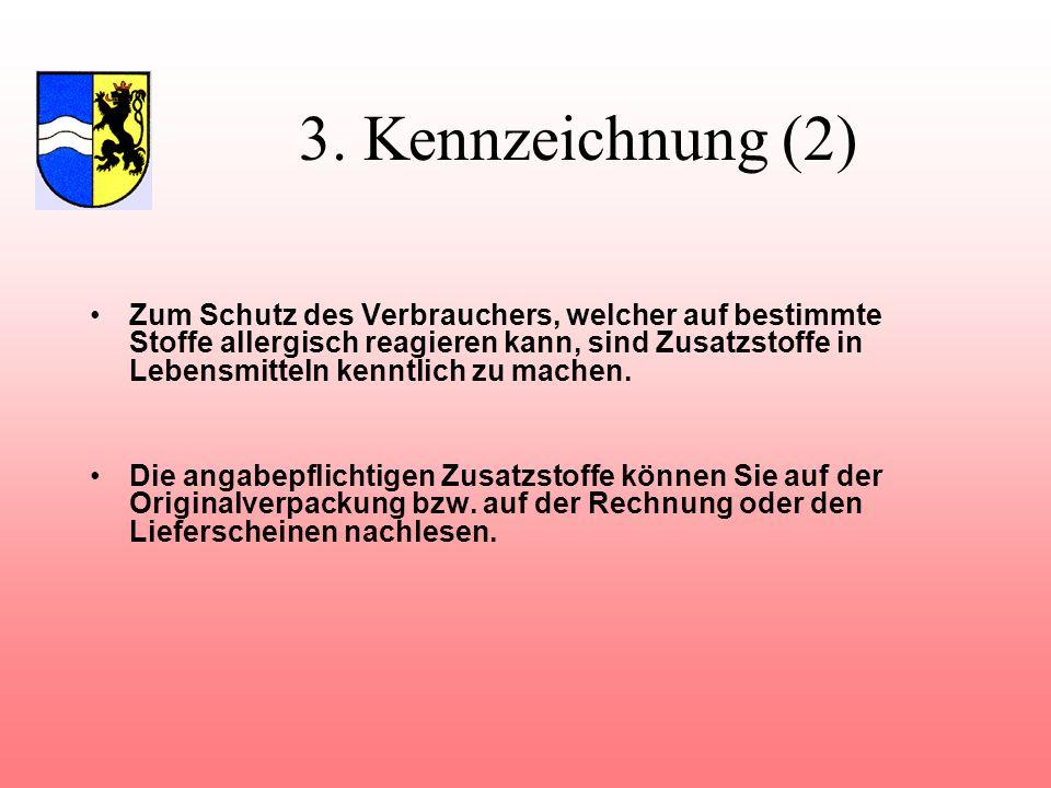 3. Kennzeichnung (2)