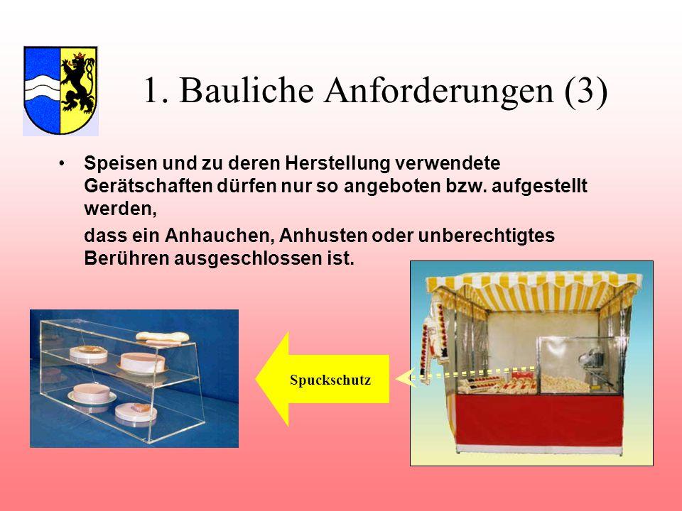1. Bauliche Anforderungen (3)