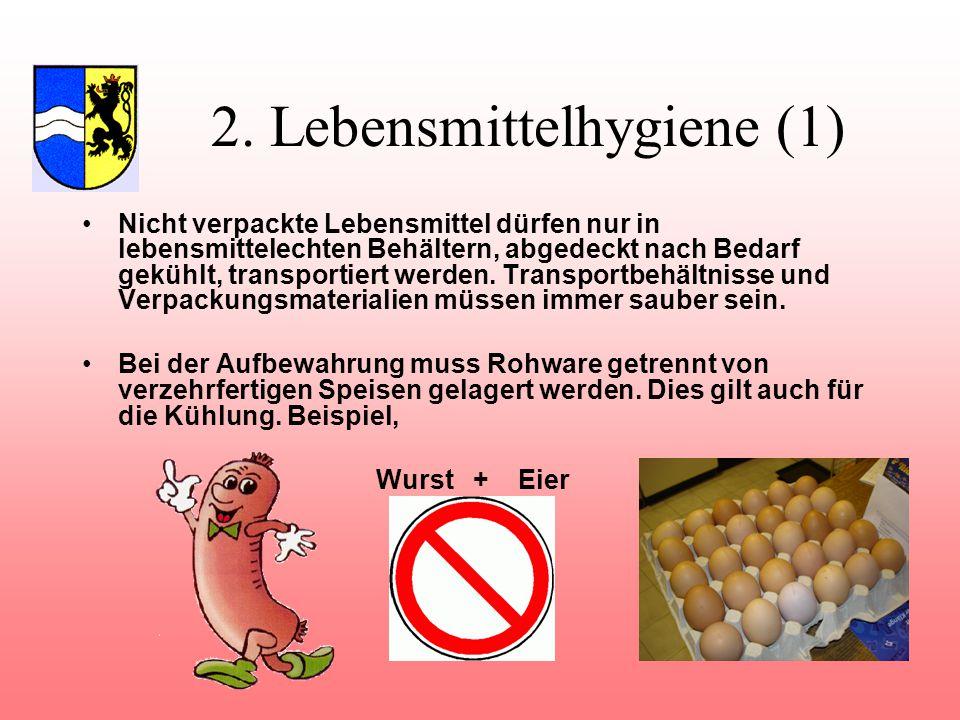 2. Lebensmittelhygiene (1)