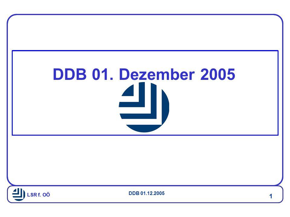DDB 01. Dezember 2005 LSR f. OÖ
