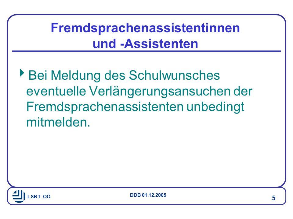 Fremdsprachenassistentinnen und -Assistenten