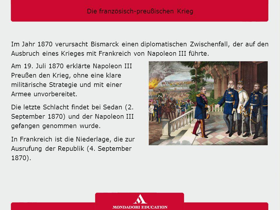Die französisch-preußischen Krieg