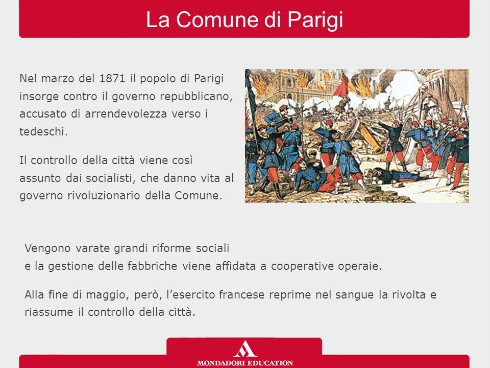La Comune di Parigi 03/04/12.