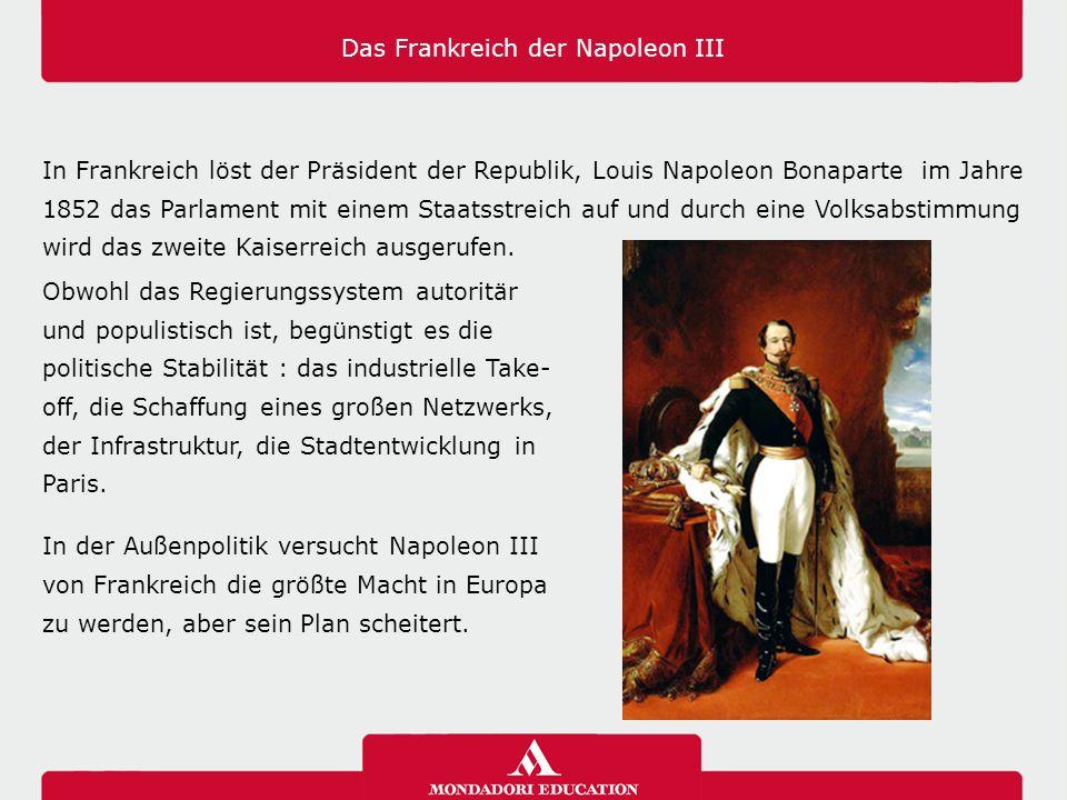 Das Frankreich der Napoleon III