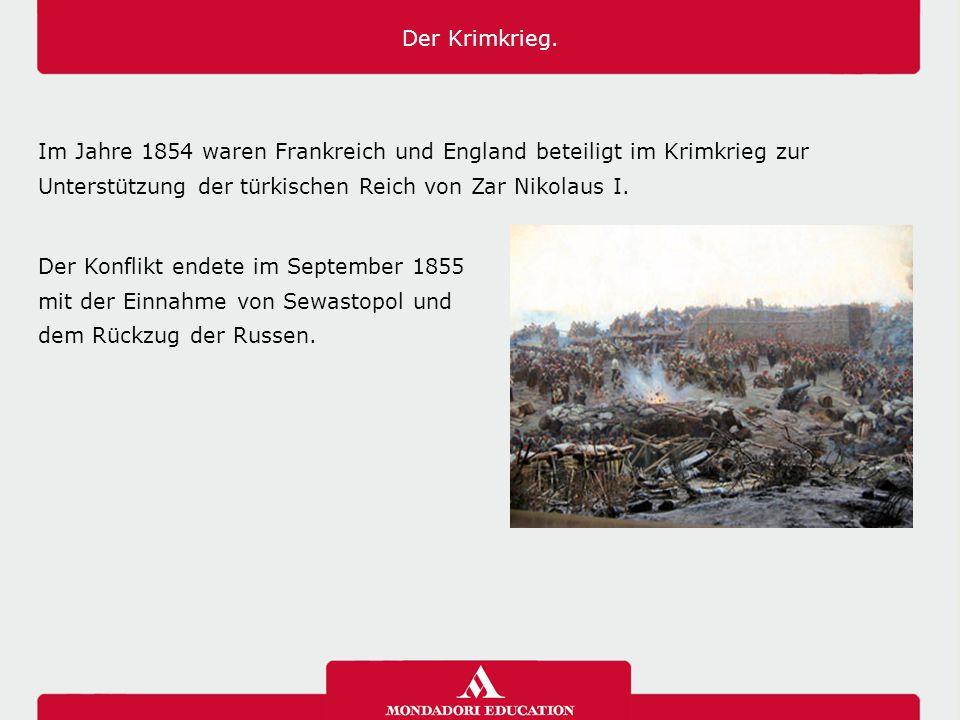 Der Krimkrieg. 03/04/12. 03/04/12.
