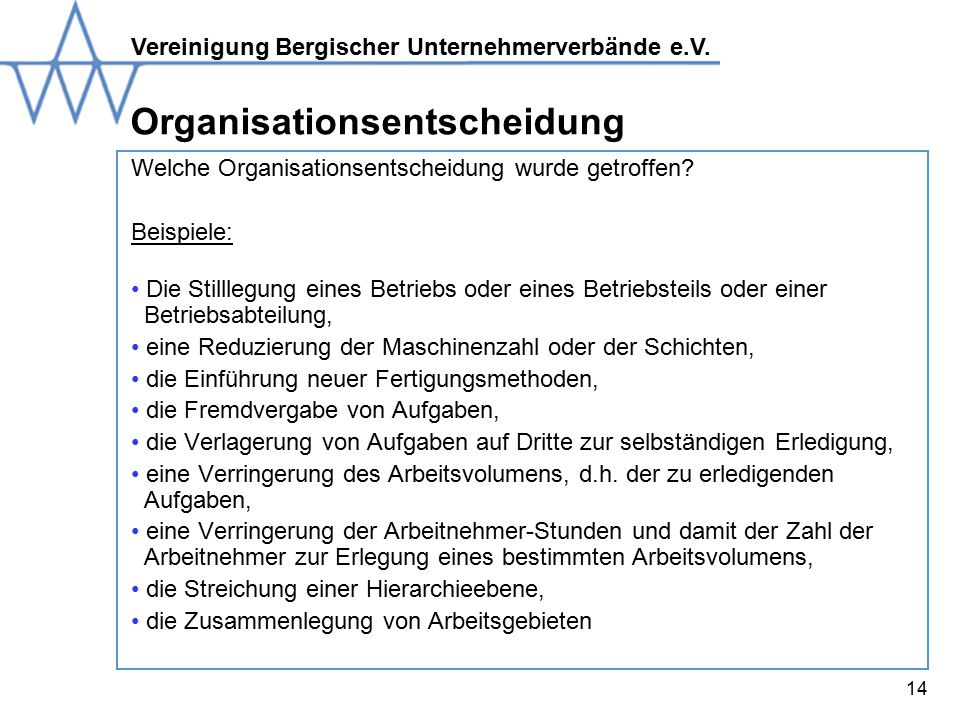 Organisationsentscheidung