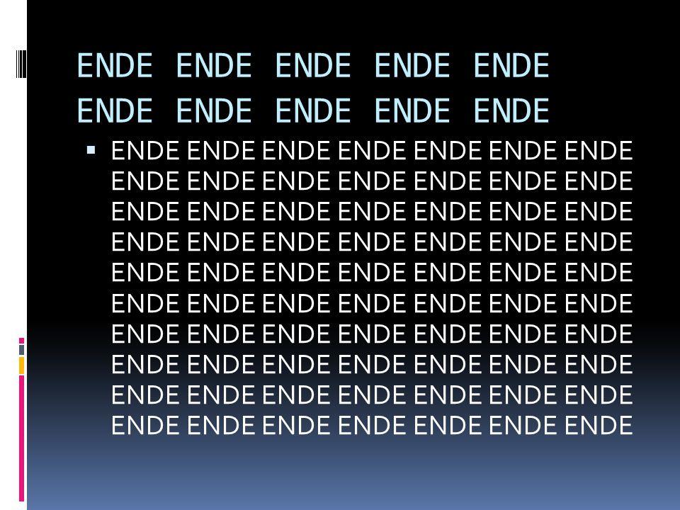 ENDE ENDE ENDE ENDE ENDE ENDE ENDE ENDE ENDE ENDE