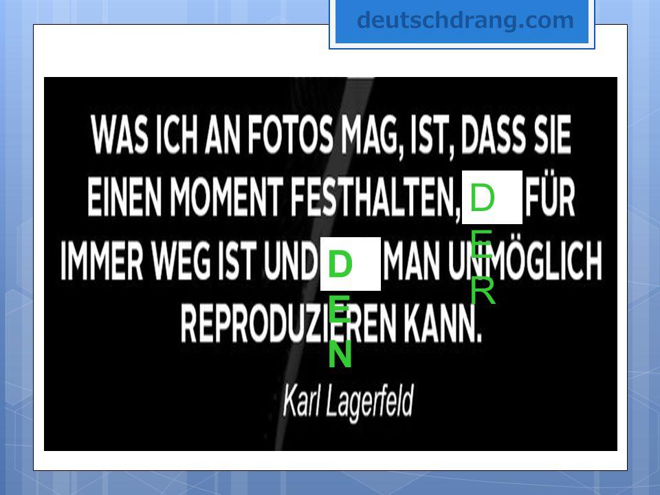 deutschdrang.com DER DEN