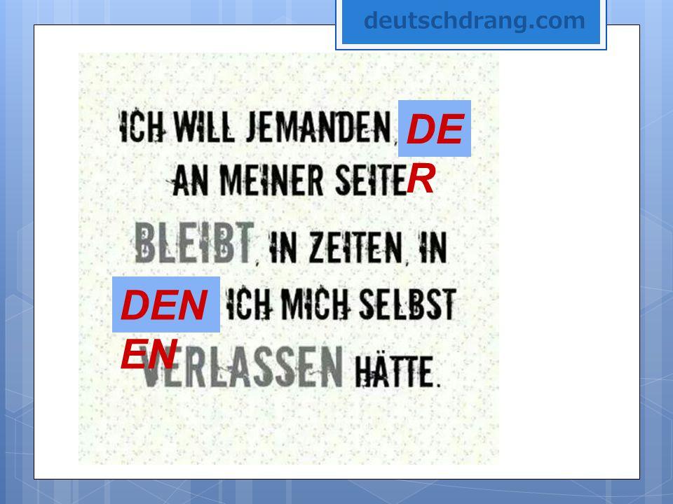 deutschdrang.com DER DENEN