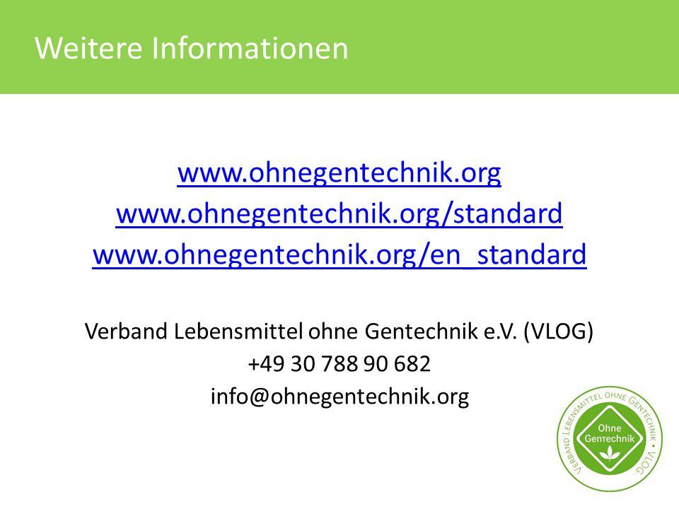 Verband Lebensmittel ohne Gentechnik e.V. (VLOG)