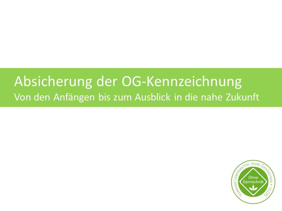 Absicherung der OG-Kennzeichnung
