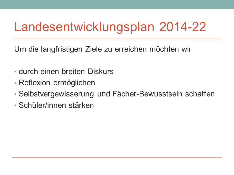 Landesentwicklungsplan 2014-22