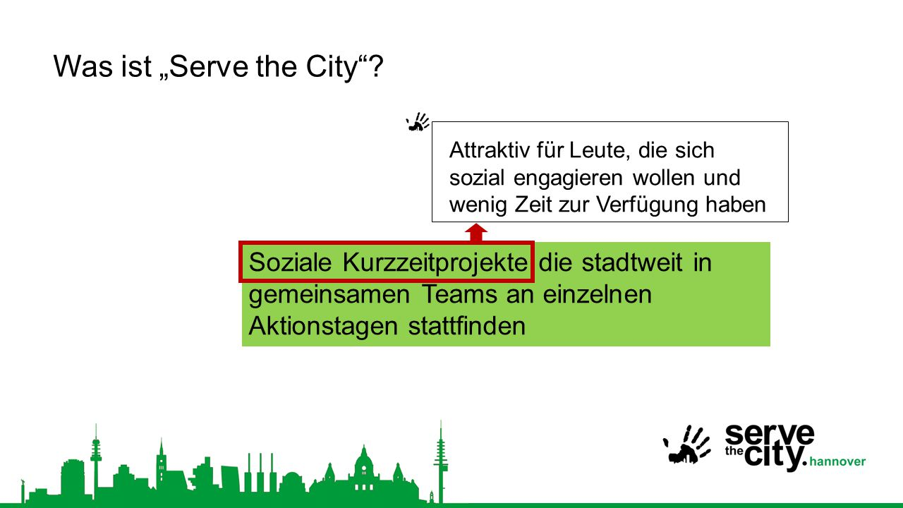 "Was ist ""Serve the City"