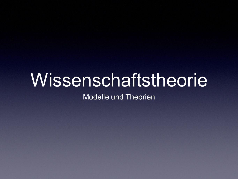 Wissenschaftstheorie