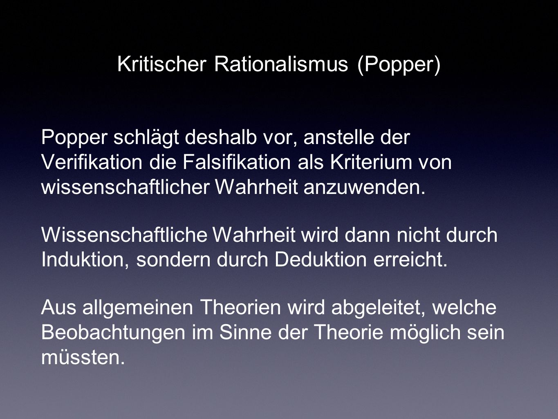 Kritischer Rationalismus (Popper)