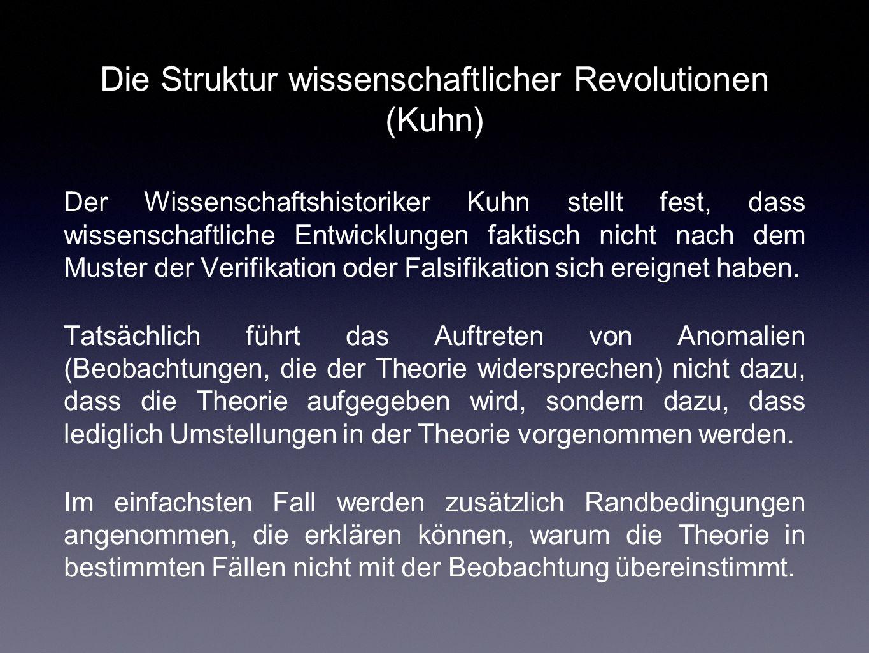 Die Struktur wissenschaftlicher Revolutionen (Kuhn)